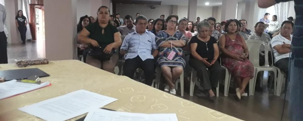 REUNIONES PARA LAS CONFORMACIONES DE LIDERES Y COORDINADORES BARRIALES.